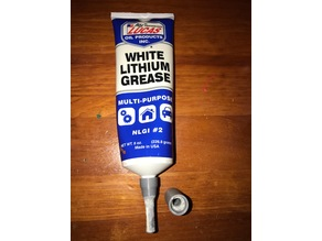 Linear Bearing Greaser Cap - LUCAS White Lithium Grease
