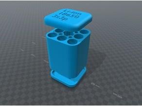 Li-ion 18650 3s3p battery holder