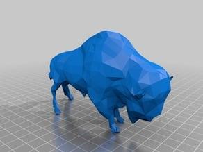Buffalo - low poly