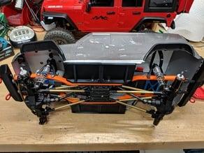 SCX10 Rock Sliders for Jeep Wrangler or similar