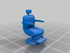 1-87 Barbers chair HO scale