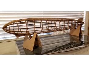 Giant Graf Zeppelin LZ 127 cardboard lasercut model (48 in.)