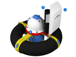 JALC Boat Wifi Antenna Support