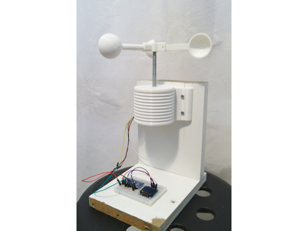 Homemade anemometer by remi-xyz