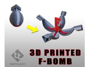 3D printed F bomb