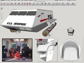 Star Trek ShuttleCraft Chair Knobs