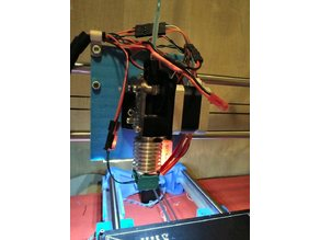 E3D Titan Extruder Bracket with 3DTouch or BLTouch