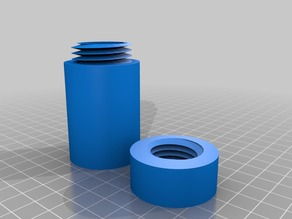 Flask with Screw Top