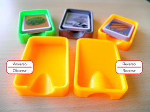 Individual Card Tray for Catan or Hare & Tortoise cards