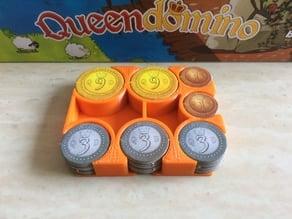 Queendomino Coin Tray