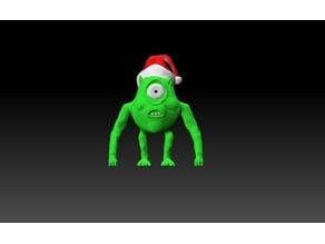 Alien Comic Monster