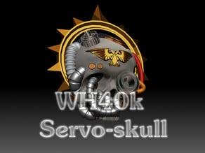 WH40k Servo-Skull