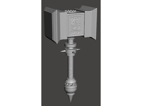 Dwarven War Hammer