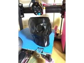 Low Polygon Skull Vase