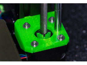 Z screw cover with movement indicator (for Prusa and other)