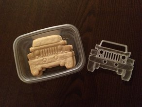 Jeep Wrangler Cookie Cutter