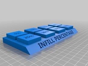 Infill Percentage 3D Printing Terminology Demo