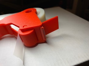 Mini Tape Gun - Cutter Strip Holder