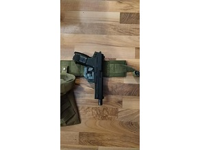 airsoft Mk23 triggerguard holster