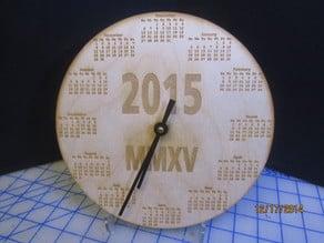 Calendar Clock.