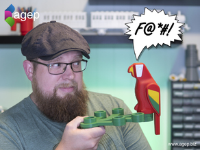 Human Scale Working LEGO Parrot
