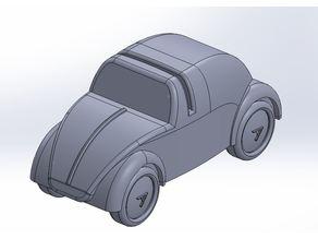 Card Holder - VW Beetle