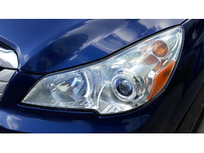 Subaru Outback 2011 headlights drainage caps