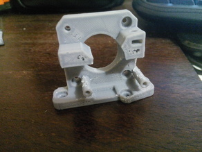 Flex Filament Bowden extruder variant