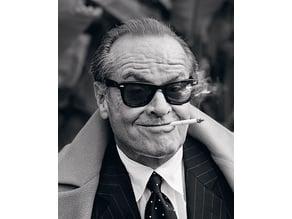 Jack Nicholson Lithopane