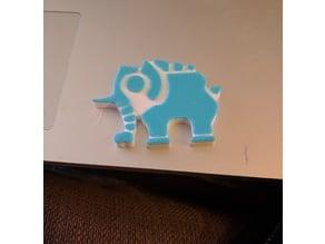 Vah Ruta Divine Beast Icon - Zelda BotW magnet
