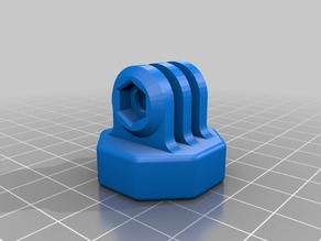 "GoPro 1/4"" Camera screw adapter (no insert)"
