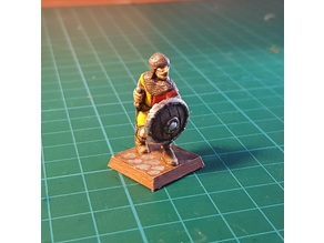 Soldier/knight 28mm (no support needed)
