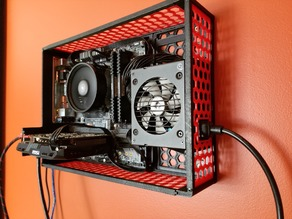 Dual Slot mATX case - Wall Mountable