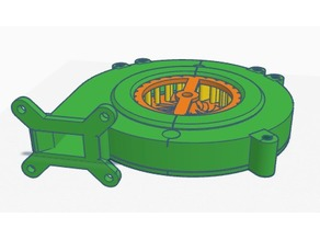 3-Inch Mini Centrifugal Fan