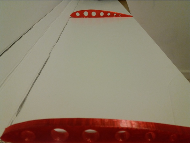 RC plane Rib Clark y airfoil by Orlando_Luscombe - Thingiverse