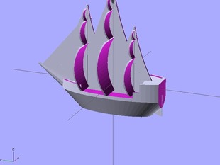 Scalable Pirate Ship