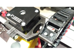 Cable Drag Chain Mount for MPCNC