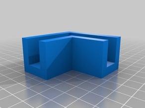 "1/2"" corner bracket for plywood"