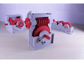 Industrial Worm Gearbox / Gear Reducer (Cutaway version)