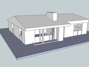 """Project 2"" Vintage House Model"