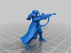 Overwatch Ana Sniper RPG Figure