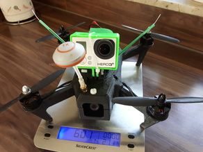 FPV Racer Quadcopter QAV250 with GoPro connection