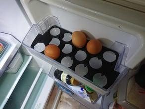 Egg Holder for Samsung Fridge SR468MW door shelf
