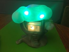 Simple Tree House Lamp