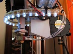 Extruder Tube Cooler for K8200 printer