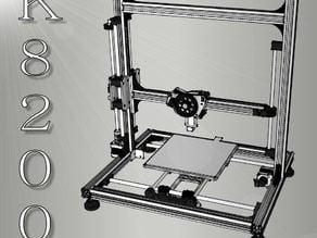 K8200/3Drag printer COMPLETE model
