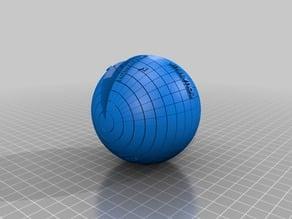 Sphere coordinates