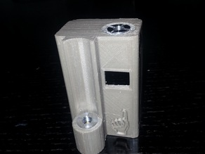 duobox mod designed for sx350 chip and holds kayfun mini 14mm-18mm and 22mm rba/rda