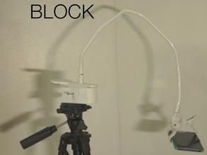 BLOCK - The Tripod Attachment for Flexible Clamps
