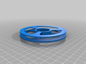 Flat Ethernet Cable Spool
